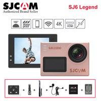 Оригинальный SJCAM Sj6 Легенда Экшн камера 4k WiFi 16MP 2,0 Сенсорный экран Sports DV Дайвинг 30 м Go Водонепроницаемый pro Yi 4k видеокамера h9
