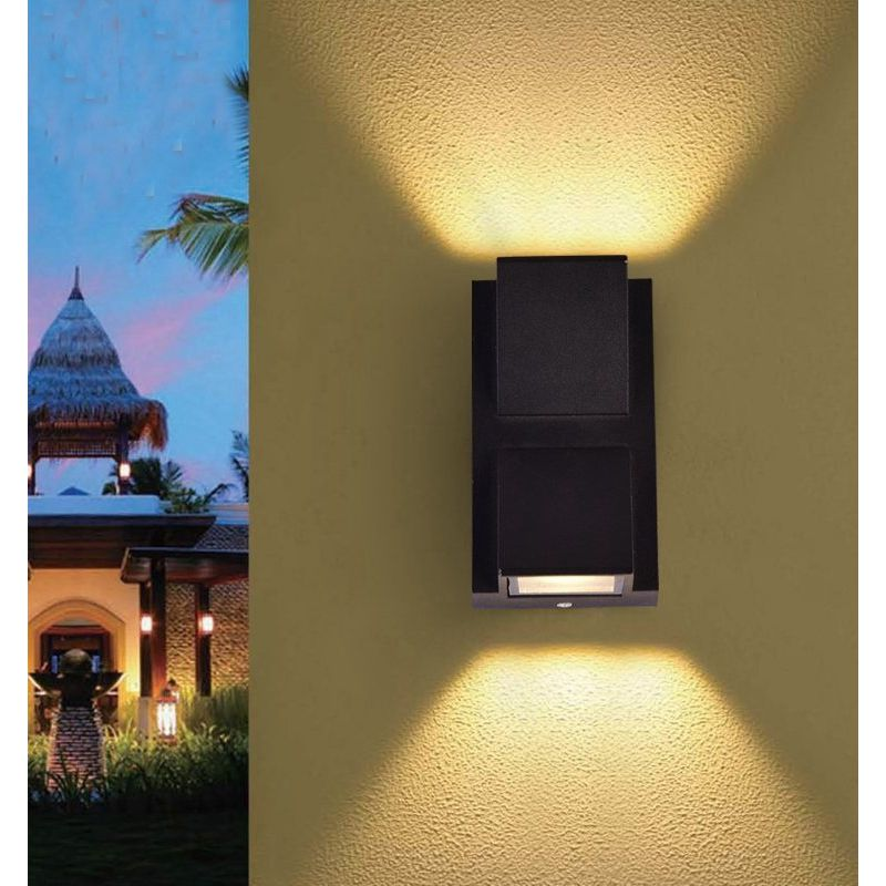 Led Outdoor Wall Sconce Light Fixture