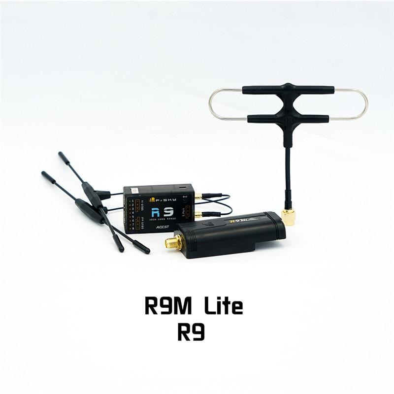 Module Frsky R9M LITE + antenne Super8 + récepteur de Module de réception R9 R9MM/R9 MINI/R9 SLIM + avec antenne T pour pièces de Drone RC
