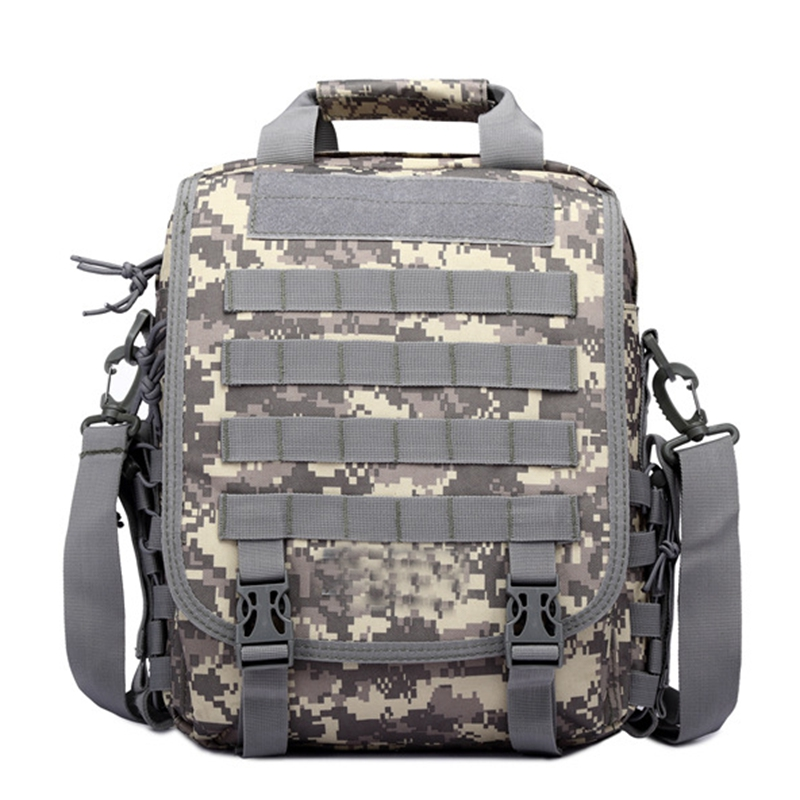 Tactical Hunting 14'' Laptop Bag Men's Molle Backpack Camping Hiking Trekking Shoulder Bag US ACU Army Military Airsoft Backpack