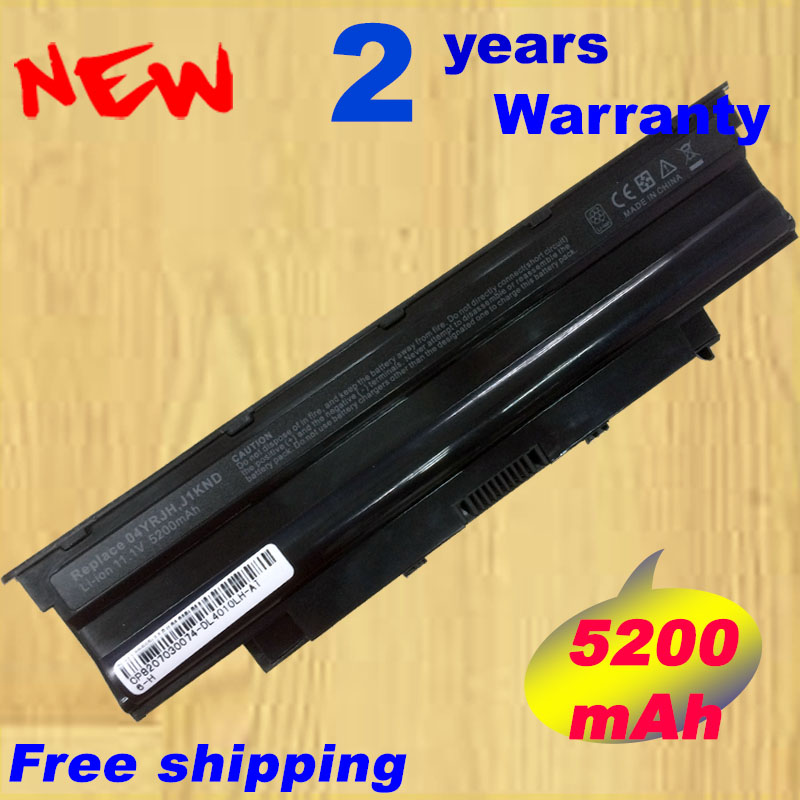 5200mAh laptop Battery j1knd for Dell Inspiron M501 M501R M511R N3010 N3110 N4010 N4050 N4110 N5010 N5010D N5110 N7010 N7110