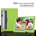 Para Lenovo Yoga Tab 3 Pro 10 X 90 X90F X90M X90L cubierta de la tableta de la alta calidad del caucho de silicona suave protectora suave hacia atrás la manga
