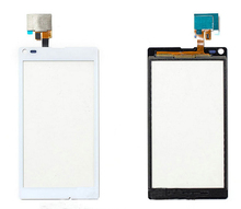 5pcs/lot New Top Quality Touch Panel Digitizer Screen Replacement For Sony Xperia L S36H C2104 C2105 Free Shipping