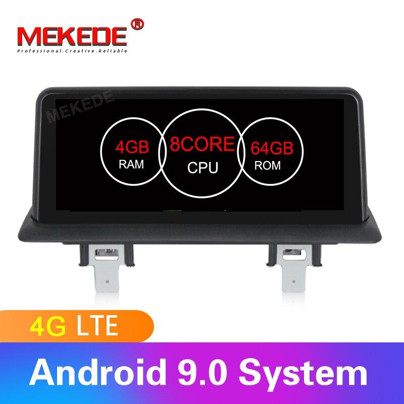 Android9.0 8 cœurs 4 GB + 64 GB voiture stéréo tête unité navigation GPS radio pour BMW 1 série E81 E82 E87 E88 116i 118i 120i 130i