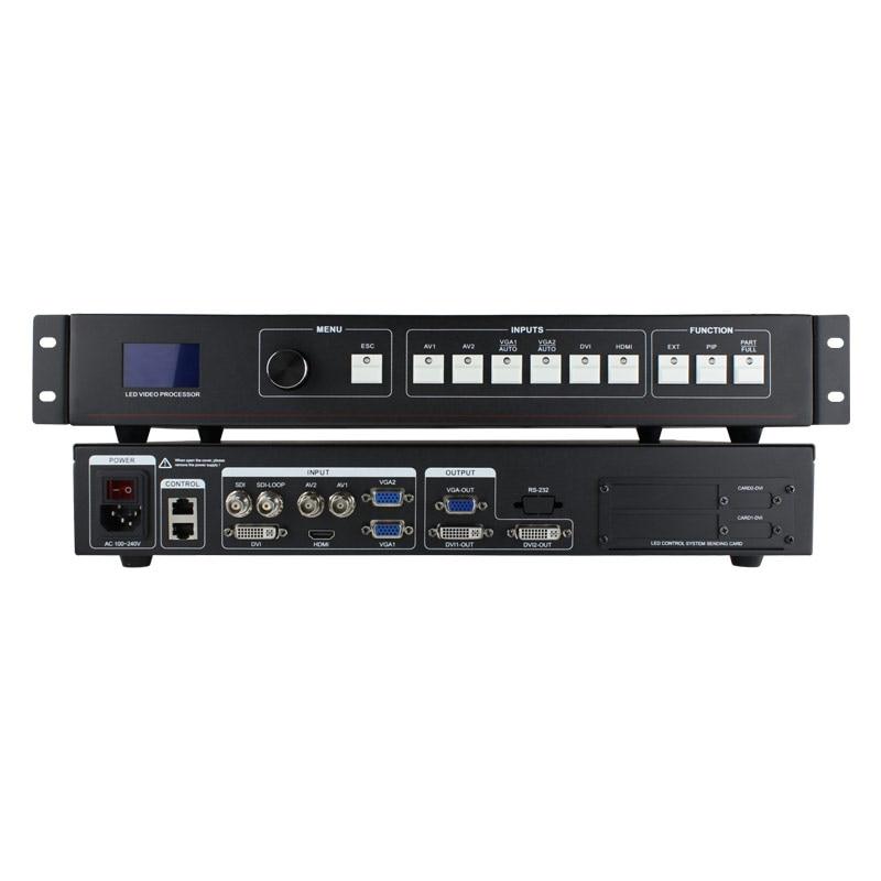 цена на led video wall screen full size sexy video led sdi video processor mvp505s for hd led screen display p4 module