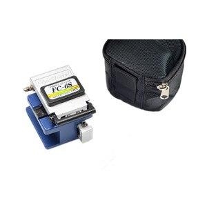 Image 5 - Trousse à outils FTTH à fibres optiques avec pince à dénuder et pince de meunier couperet à fibres et compteur de puissance optique pointeur Laser rouge 5km