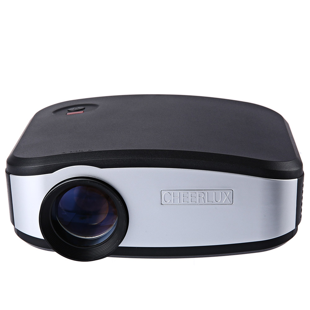Buy cheerlux c6 mini projector 1200 lumens 800x840 video for Buy small projector