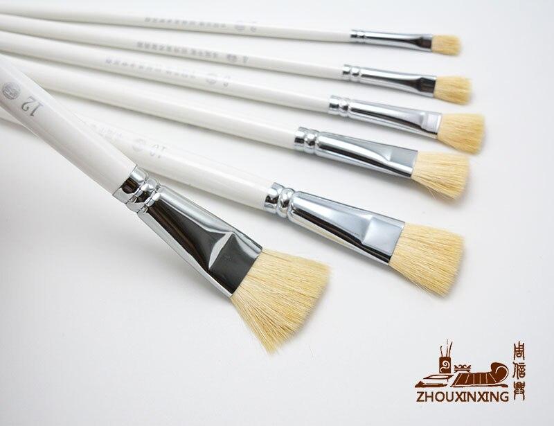 ▻6 unids/set oferta especial lana nivel cola pluma pintura al