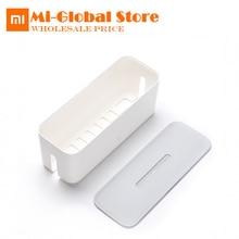 Оригинальный Xiaomi Мощность шнур Мощность розеток коробка для хранения организованной контейнер для пыли изоляция охлаждение отверстие отделка связывая коробка