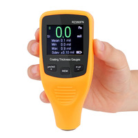 RZ260FN Digital Coating Thickness Gauge Car Paint Thickness Meter Paint Thickness tester Thickness Gauge Auto Fe And NFe 2 in 1