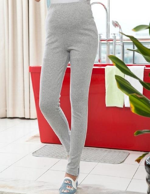 Leggings para as mulheres Legging outono para grávidas calças de moda de nova elevador estômago