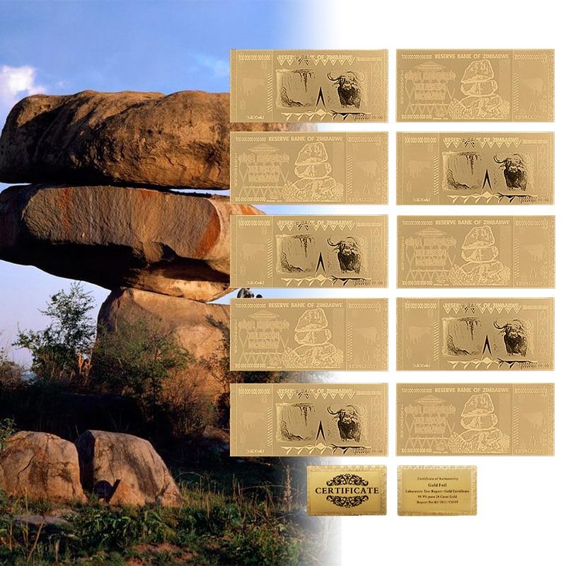 WR колоритен Зимбабве 100 трилиона - Декор за дома - Снимка 1