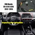 Thehotcakes Автомобильная Камера Заднего вида Резервного Копирования Камера Заднего Вида Для Mazda CX-5 CX 5 CX5 2013 2014 2015/RCA & Оригинальный Экран совместимость