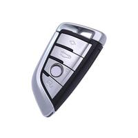 New Smart Car Remote Key Accessories Fob for BMW 1 2 3 5 7 Series X1 X5 X6 X5M X6M Car Key 4 Buttons Key Shell Cover