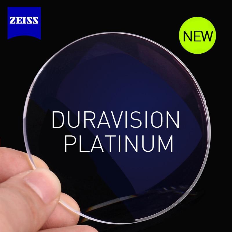 ZEISS Dura Vision Platinum Lens 1.56 1.61 1.67 1.74 High Index Myopic Dioptric Glasses Lenses Prescription Recipe Needed 2 Piece
