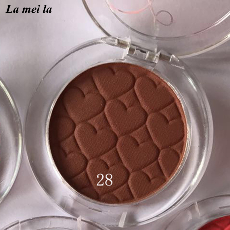 2018 Hot Sale New Dark brown Eye Shadow Super Shock Durable Waterproof Single color Matte Eye makeup #28