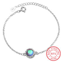 Женские браслеты aurora из серебра 925 пробы с градиентными