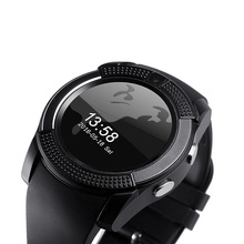 Original sportuhr vollbild smart watch für iphone ios/android smartphone unterstützung tf sim karte bluetooth smartwatch pk gt08