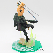 One Piece Roronoa Zoro 1/8 Scale Painted Figure Fighting 19cm