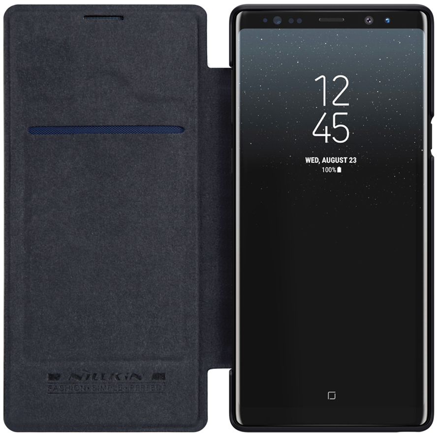 <font><b>Case</b></font> For <font><b>Samsung</b></font> Galaxy Note 9 NILLKIN Qin Series Flip Cover <font><b>Case</b></font> For <font><b>Samsung</b></font> Note 9 <font><b>Note9</b></font> Book Flip PU Leather <font><b>Case</b></font> image