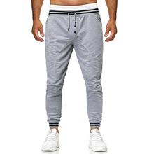 Sports Joggers Sweats Slim Fitness Outwear Casual Sportswear Men Pants Sweatpants & Leisure Grey Black