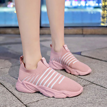 New 2019 Fashion Sneakers Women Casual Vulcanized Shoes Breathable Mesh Spring Summer High Quality Running