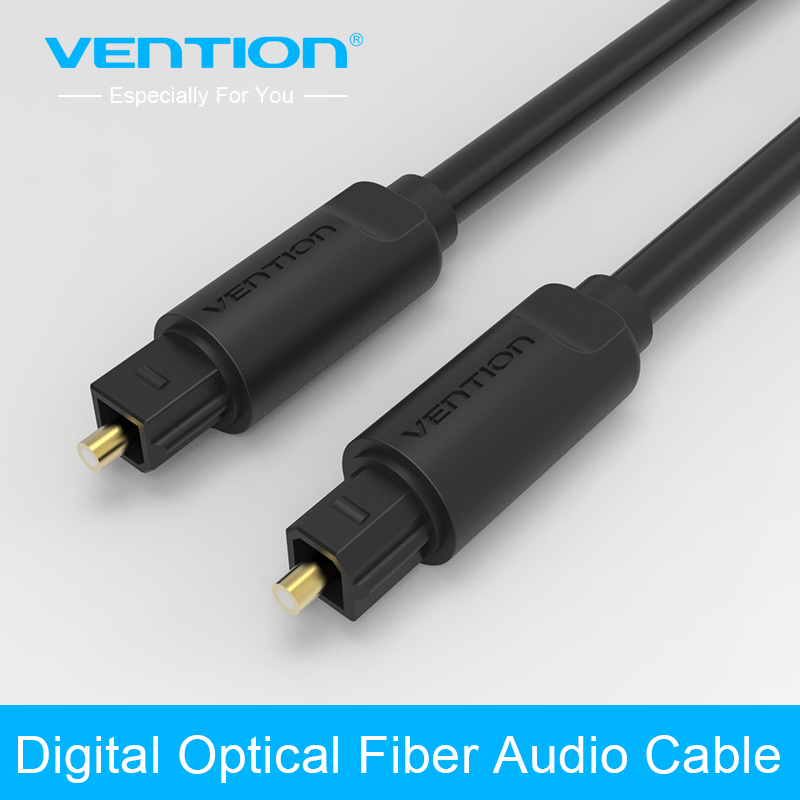 ᗐVention Toslink Digital ჱ Cable Cable Optical Fiber Audio Cable Adapter ᐃ 1m 1m for TV Blueray ...