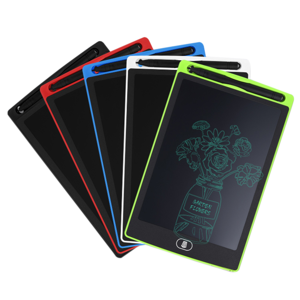 8.5'' LCD Writing Tablet Digital Graphic Tablets Electronic Handwriting Drawing Pad Board Notepad + Stylus Pen for Kids(China)
