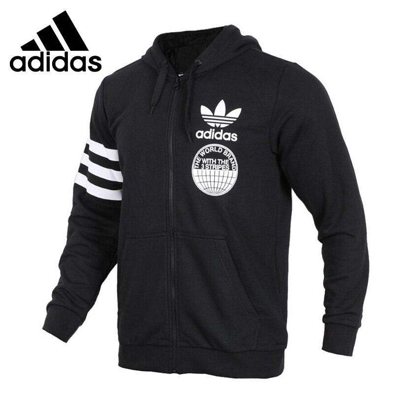 Original New Arrival Official Adidas FULLZIP HOODIE Men's Comfortable Jacket Hooded Sportswear Good Quality CZ1751/CZ1752 original nike women s jacket hoodie sportswear