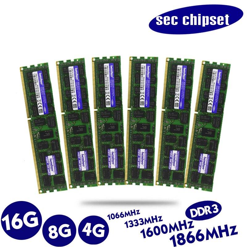 Originale 8 gb DDR3 1333 mhz 1600 mhz 1866 mhz 8g 1333 1600 1866 ECC REG server di memoria RAM 16 gb 16g 32 gb 32g x79 x58 2011 4 gb 4g