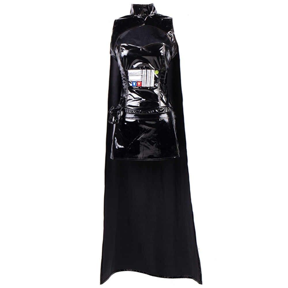 Halloween Cosplay Trang Phục Phụ Nữ Star Wars Anakin Skywalker Commander Darth Vader Sexy Ưa Thích Ăn Mặc