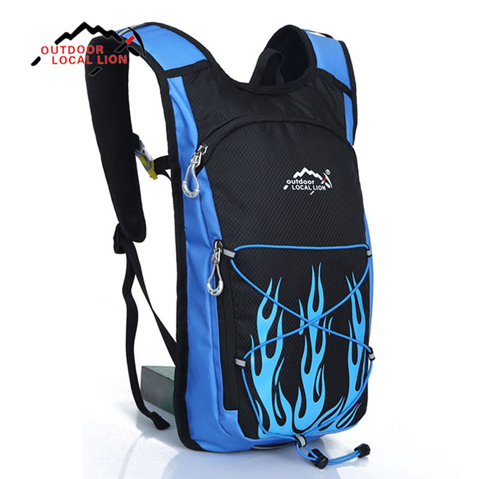 LOCAL LION Mens Cycling Hiking Backpack Ultralight Women Outdoor Travel Backpack Biking Water Bag SMALL Daypack Hydration Pack