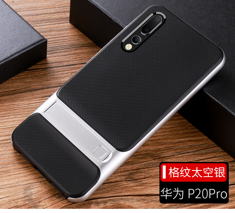 HTB1b Sndi6guuRjy0Fmq6y0DXXas Mobile Case Back Cover for Huawei P20 P20Pro Stand Case Cover Shockproof 360 Full Protective 3D Hybrid for HuaweiP20 Pro Fundas