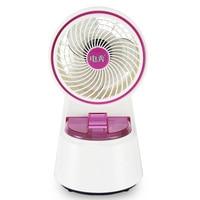 humidifier Small Desktop Home Cool fog fan office Mute Replenishment Sprayed Electric fan