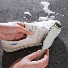 PP + プラスチック靴ブラシ洗浄ブラシ靴クリーナー洗濯クリーニングツール革ブラシスエードのブーツバッグスクラバークリーナー