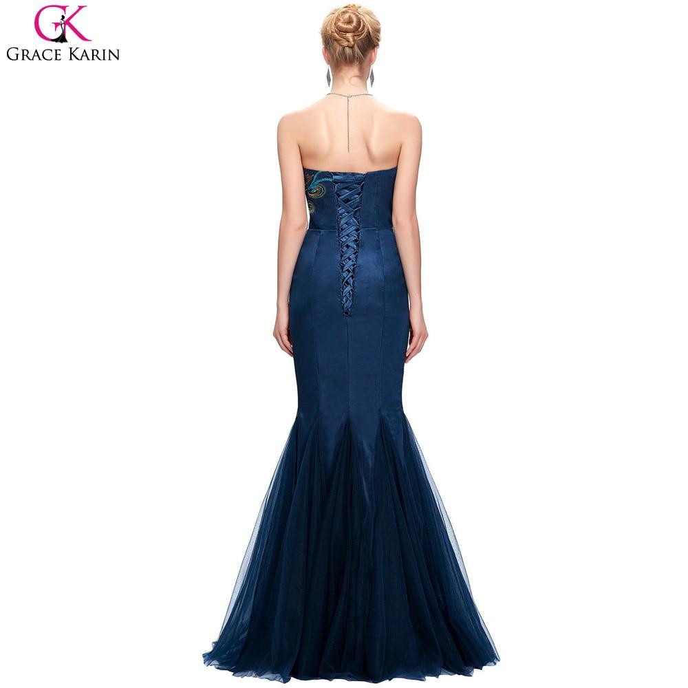 Elegant Prom Dresses Multi Peacock