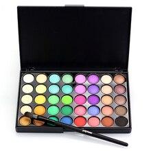 Matte Pearl Glitter Eyeshadow Shimmer 40 Colors Palette