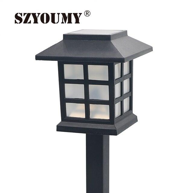 SZYOUMY Hot Waterdichte Cottage Stijl LED Solartuinlamp Outdoor ...