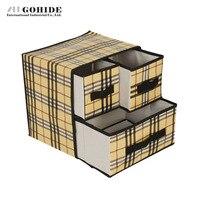 Duh درج تخزين مربع ضخ الصدرية مربع تخزين الجوارب ملابس داخلية العلاقات درج حجرة منظم تخزين مربع المنزل