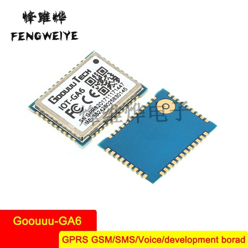 Panel Goouuu GA6 module GPRS GSM SMS Voice Development Board Wireless Data Transmission A6