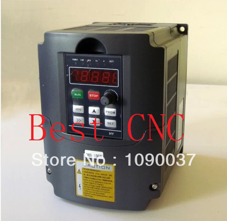 Variable Frequency Drive VFD Inverter 4kw 5HP 4kw inverter inverter vfd frequency ac drive s310 2p5 h1bcd new 1 phase 220v 3 1a 0 4kw 0 5hp