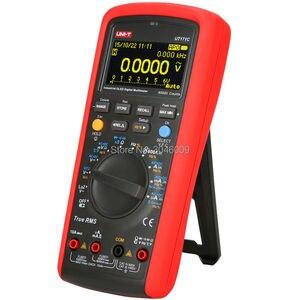 Image 3 - UNI T UT171C multimètre numérique RMS industriel/affichage OLED/entrée basse impédance LoZ/mesure de fréquence VFC/USB/Bluetooth