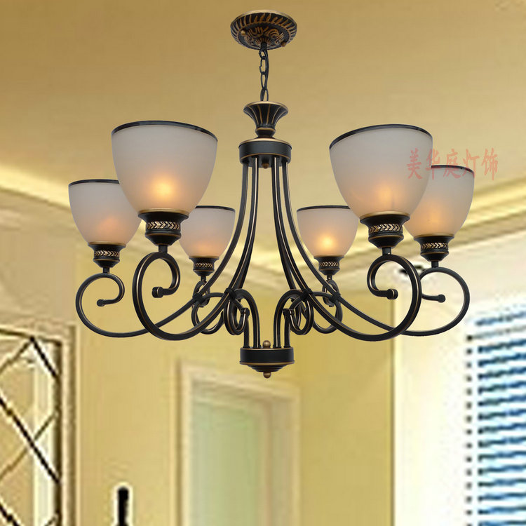A Clearance Sale Pendant Light Dining Room Bedroom Lamp Villa Simple Lighting D8 056 Iron Stores In Lights From On Aliexpress