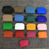 Real Leather Brand Designer Women Men Coin Purse Top Quality Multi 19 Colors Small Change Wallet Cards Holder