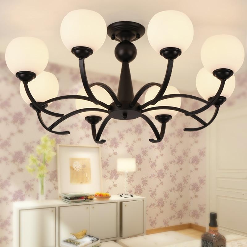 American country ceiling lamp simple modern living room lighting warm  bedroom children's room study ceiling
