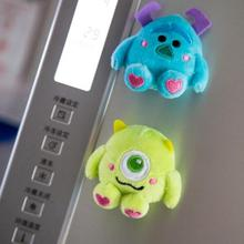 Университет Монстров магнит на холодильник Mike Blue Sullivan магнитная наклейка на холодильник для девочек куклы Мягкие Плюшевые Игрушки Doraemon мультфильм