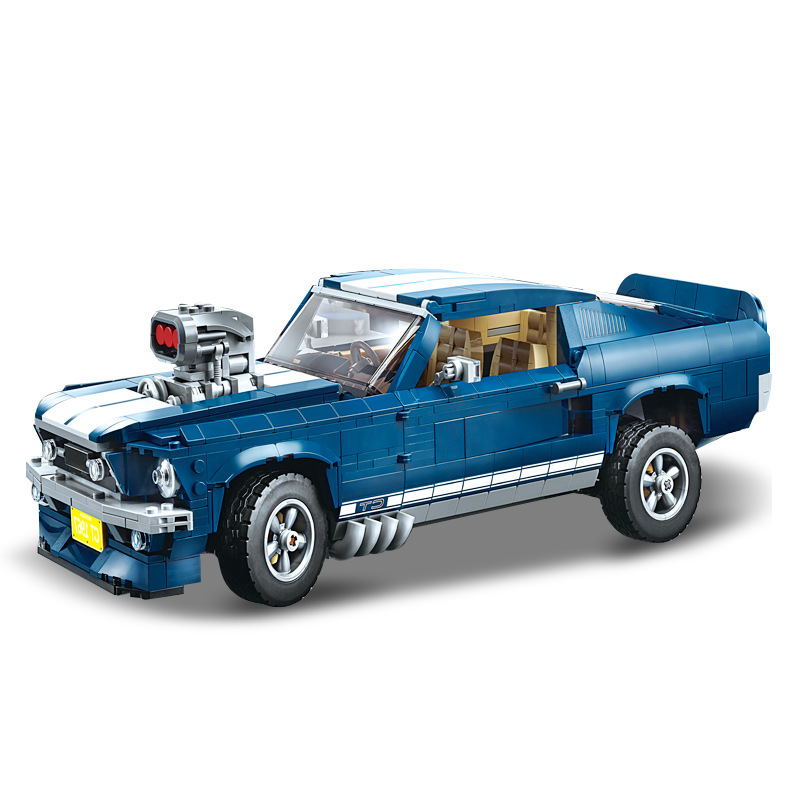 21047 Children s building blocks toy Compatible Legaoed 10265 city Sports Car Club Technic Series Ford