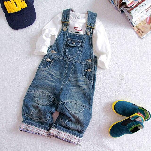 79b96e5bda denim overalls for kids 2015 baby toddler jardineira jeans menino Summer  casual bib overalls boy infant dungarees