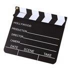 Wooden Video Clapper board Movie Cute Clapper Board Film Slate Prop