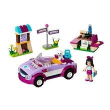 Friends Series Emmas Sports Car Building Block Assemble toys the blocks Toys for children
